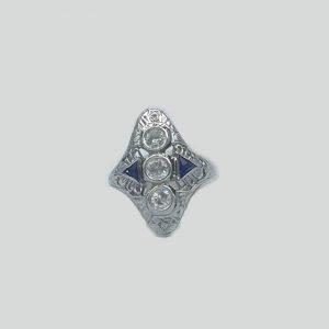 Diamond-Saphire-3-ring