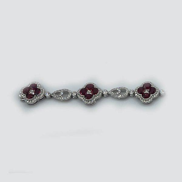 Ruby-Flower-Bracelet-with-Diamonds-closeup