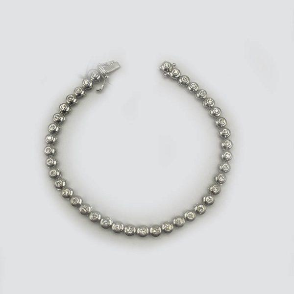 Tennis Bracelet with Diamonds