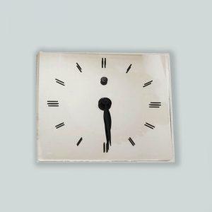 GE Vintage Mirrored clock