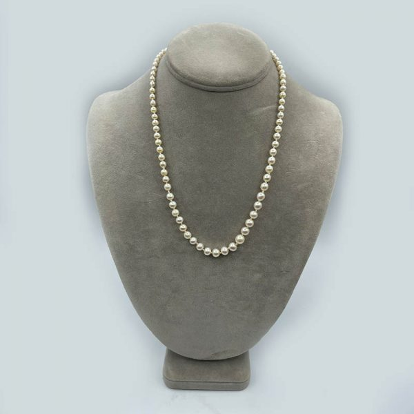 4mm to 6mm Graduated Cultured Pearl Necklace