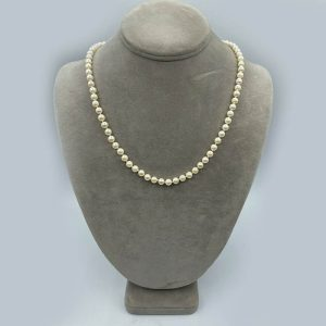 5.5-6mm 16 inch Cultured Pearl Necklace