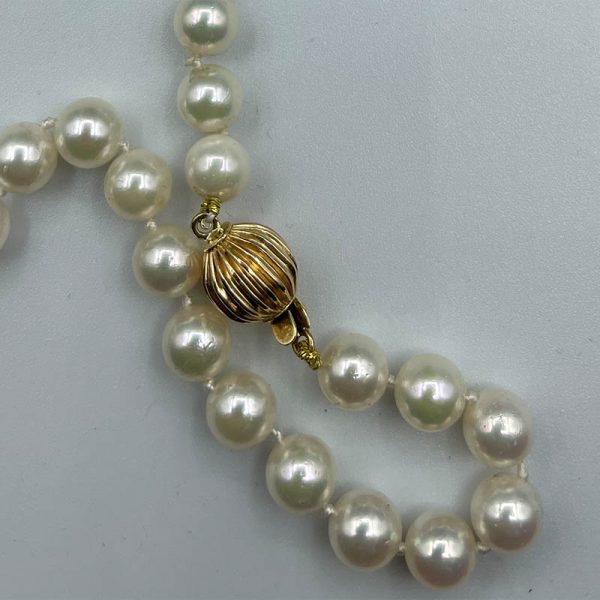 7mm Cultured Pearls Necklace2