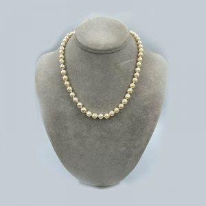 Baroque pearl necklace 8mm