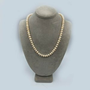 Freshwater Pearl necklace pink cast