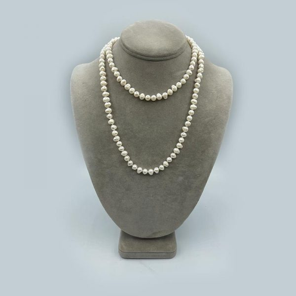 Freshwater Potato Pearl Necklace
