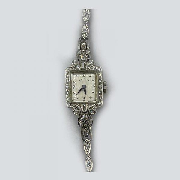 Hamilton Vintage Womans Diamond watch