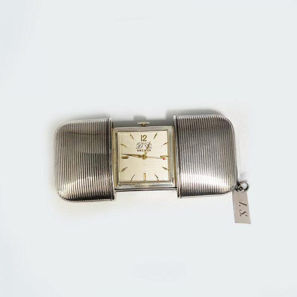 Sterling Silver Purse watch by Delma