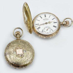 Waltham American Watch Co Pocket Watch Antique