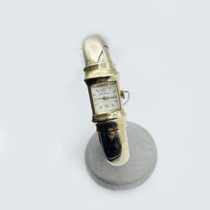 Women's Expandable Bracelet Watch Gold 1950's