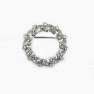 Wreath Vintage Pin or Brooch