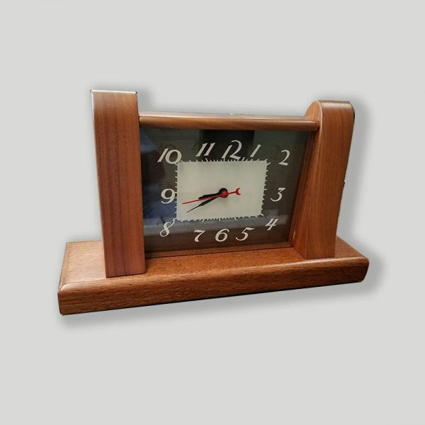 Lackner Squire lighted electric clock