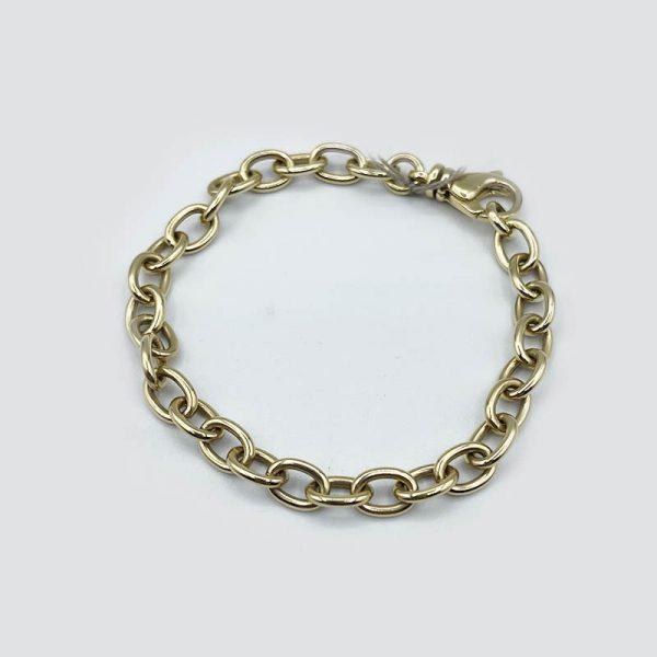 14k gold chain bracelet