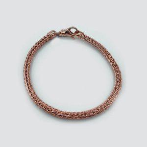 18kt Copper Rope Bracelet