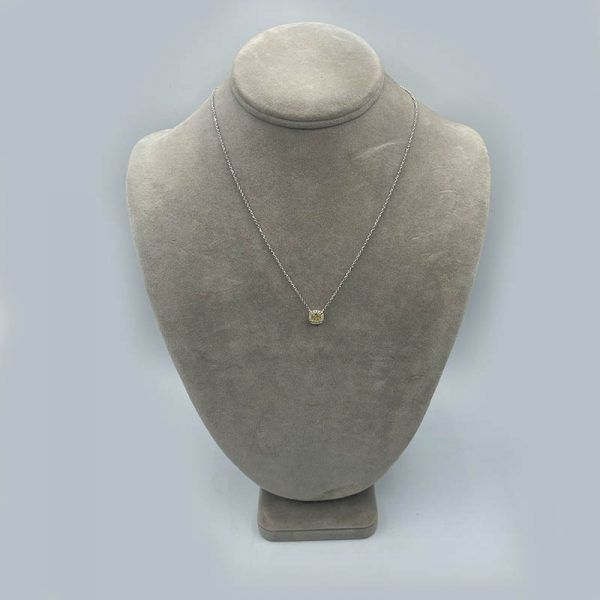 18kt Yellow and White Diamond Pendant