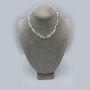 Antique Crystal Necklace Circa 1900s-1